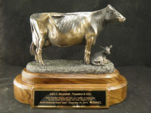 Holstein Cow Bronze